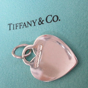 Tiffany Sterling Silver PURE HEART Charm